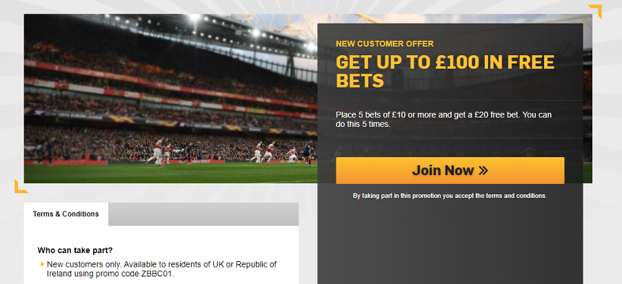 Betfair - New customer offer