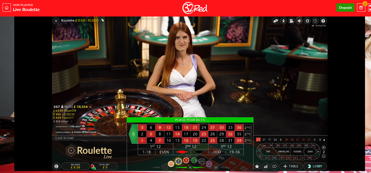 32red-live-roulette-table