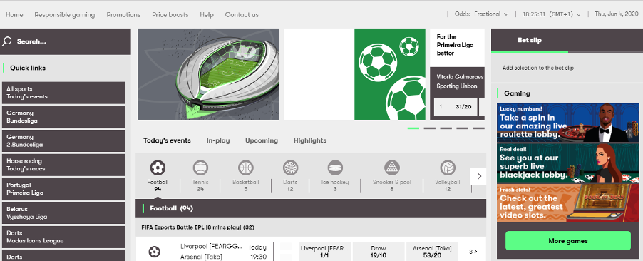 10bet – Homepage