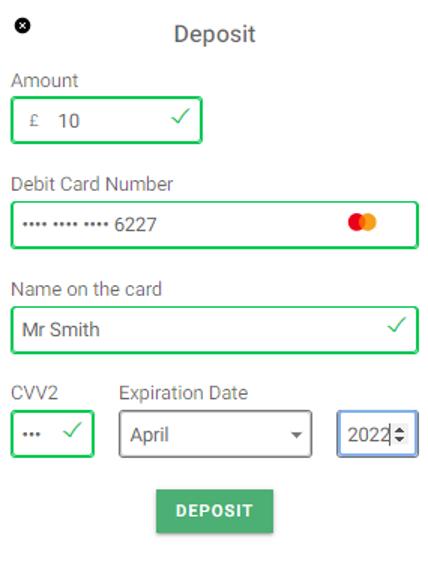 GentingBet - Making a deposit