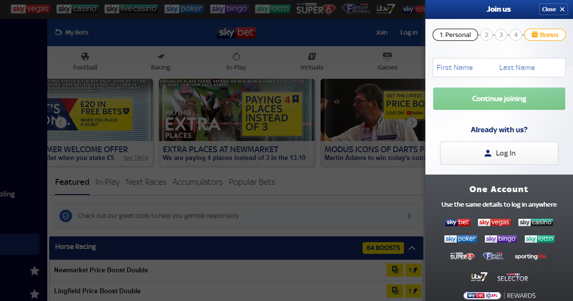 sky-bet-registration-pages